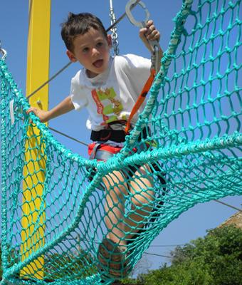 Parcours aventure kids