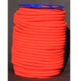 elastiques multibrins gainé (orange fluo)