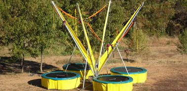 bungy trampoline trampo élastique trampoline élastique